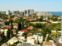 Cidade em um mar Foto de Stock