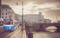 Cidade europeia norte imagens de stock