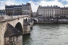 Cidade europeia velha Paris França imagem de stock