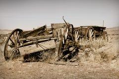 Cidade fantasma Fotografia de Stock Royalty Free