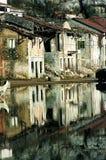 Cidade fantasma Imagem de Stock Royalty Free