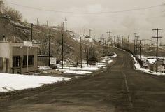 Cidade fantasma Imagem de Stock