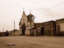Cidade fantasma fotografia de stock