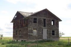 Cidade fantasma abandonada Imagem de Stock Royalty Free