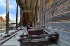 Cidade fantasma da febre do ouro - Bodie California Imagens de Stock