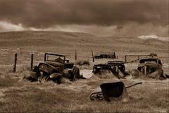 Cidade fantasma de Bodie Fotografia de Stock