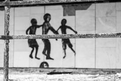 Cidade fantasma de Pripyat na Ucrânia Fotos de Stock