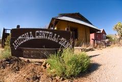 Cidade fantasma do banco central do Arizona Imagens de Stock