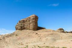 Cidade fantasma do mundo em Xinjiang Imagem de Stock Royalty Free