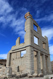 Cidade fantasma do Rhyolite Foto de Stock Royalty Free