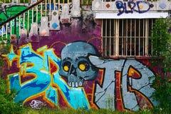 Cidade fantasma em Itália Fotografia de Stock Royalty Free