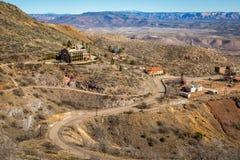 Cidade fantasma histórica de Jerome Arizona Imagens de Stock