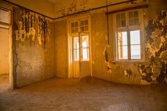 Cidade fantasma Namíbia de Kolmanskuppe Fotos de Stock Royalty Free