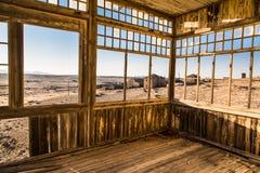 Cidade fantasma Namíbia de Kolmanskuppe Fotos de Stock