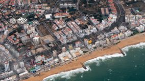Cidade Faro do enigma do obove fotos de stock