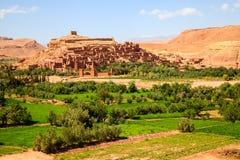Cidade fortificada benhaddou da AIT Imagem de Stock