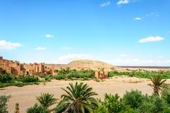 Cidade fortificada de Ait Ben Haddou (Marrocos) Imagens de Stock