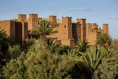 A cidade fortificada magnífica de Ait Benhaddou em Marrocos Imagem de Stock