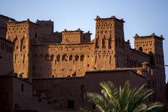 A cidade fortificada magnífica de Ait Benhaddou em Marrocos Fotos de Stock