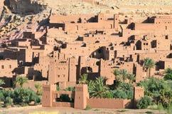 Cidade fortificada tradicional em Marrocos, África. Foto de Stock Royalty Free