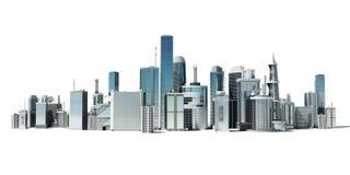 Cidade futurista Imagens de Stock