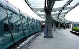 Cidade futurista Imagem de Stock Royalty Free