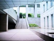 Cidade futurista Fotografia de Stock Royalty Free