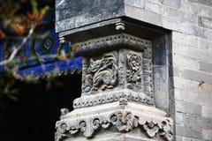 Cidade God& x27; templo de s, Zhengzhou imagens de stock royalty free
