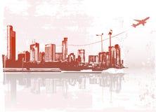 Cidade grande ilustração do vetor