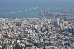 cidade haifa fotos de stock