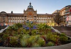 Cidade Hall Birmingham de Birmingham, Inglaterra fotos de stock royalty free