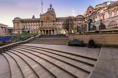 Cidade Hall Birmingham England foto de stock royalty free
