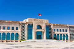 Cidade Hall Building em Tunes, Tunísia fotografia de stock royalty free
