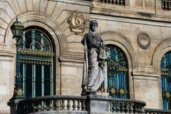 Cidade Hall Casa de Bilbao consistorial - Ayuntamiento imagem de stock