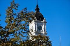 Cidade Hall Clock Tower de Plata do La fotografia de stock royalty free
