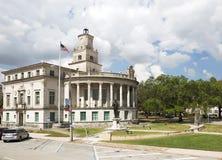 Cidade Hall Of Coral Gables Fl EUA fotografia de stock royalty free