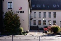 Cidade Hall Griesheim Fotos de Stock Royalty Free