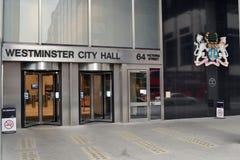 Cidade Hall London de Westminster fotos de stock royalty free