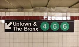 Cidade Hall Subway Station - New York City da ponte de Brooklyn Foto de Stock Royalty Free