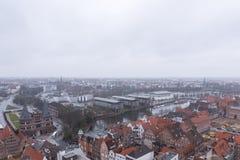 Cidade Hanseatic do ¼ beck de LÃ Fotos de Stock Royalty Free