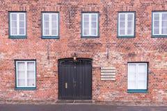 Cidade Hanseatic do ¼ beck de LÃ foto de stock royalty free