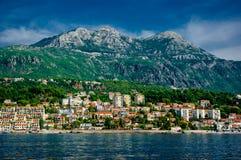 Cidade Herceg Novi Imagem de Stock