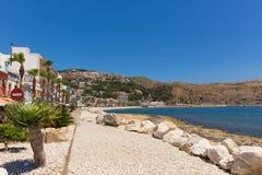 Cidade histórica da Espanha de Xabia perto de Denia igualmente conhecido como Javea Imagens de Stock Royalty Free