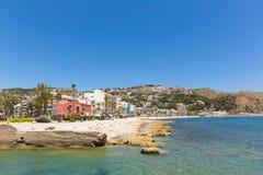 Cidade histórica da Espanha de Xabia situada perto de Denia igualmente conhecido como Javea Foto de Stock