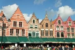 Cidade histórica de Bruges, Bélgica Fotografia de Stock