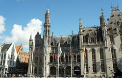 Cidade histórica de Bruges, Bélgica Imagem de Stock Royalty Free