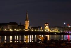 Cidade histórica de duesseldorf Imagens de Stock