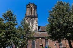 Cidade histórica de Emmerich no nrw Alemanha de Rhine River Imagens de Stock