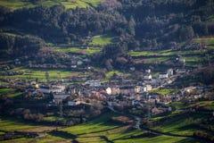 A cidade histórica de Mondoñedo Imagem de Stock Royalty Free
