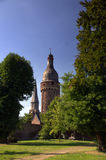 Cidade histórica de Zons, Alemanha Fotos de Stock